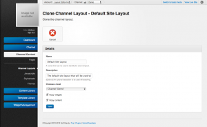 Unroole CMS Admin Panel - Channel Layouts Clone form.png