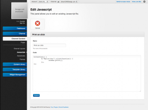 Unroole Site Builder Admin Panel - Javascript Edit.png