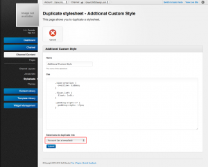 Unroole Site Builder Admin Panel - Stylesheets Template Duplication.png
